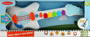 Rock-N-Roll-Light-Up-amp-Sounds-Guitar-For-Tots-Children-Toy