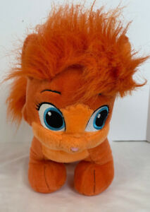 Build A Bear Disney Palace Pets Aurora Orange Treasure Cat Pet Ariel Unstuffed