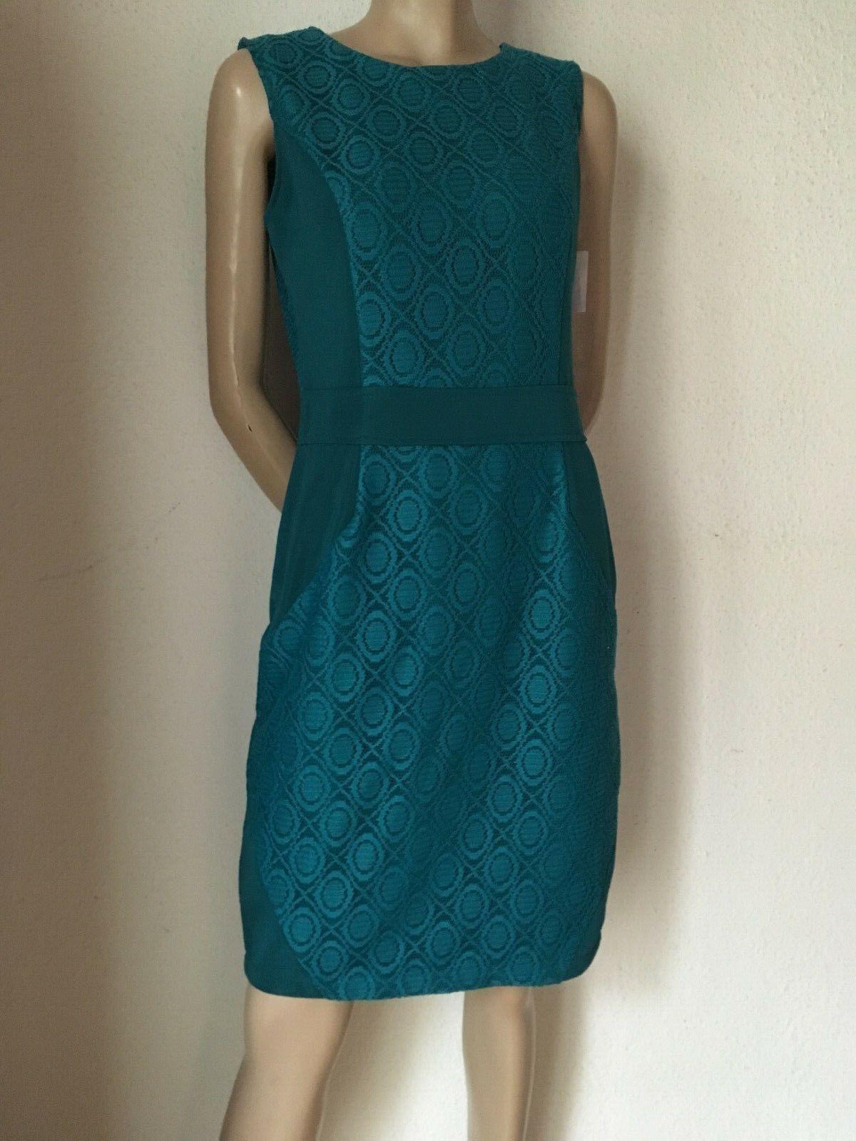 Bleistift Kleid 50er Stil Spitze smaragd grün  38  40 Maiocci VP 299 Euro pin up