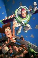 Toy Story Movie Poster Buzz Woody No Text Large 24inx36in
