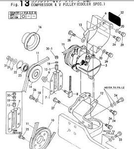 yanmar excavator b50 2 parts manual all other manuals available as rh ebay com B50 Yanmar Model 1990 Yanmar Mini Excavator