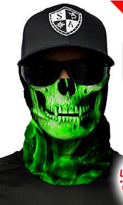 GREEN CROW Tubular Bandana Face Shield Sun Mask Balaclava