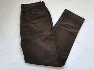 joop jeans herren chinos hose braun unifarben gr 48 top ebay. Black Bedroom Furniture Sets. Home Design Ideas