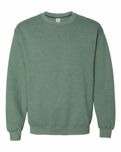 Gildan Heavy Blend Crewneck Sweatshirt 18000 S-3XL NEW 50//50 cotton polyester