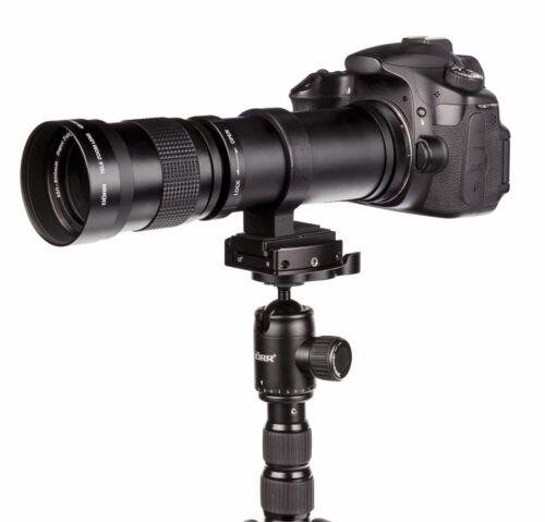 560 ecc 550 580 NUOVO Teleobiettivo 420-800mm per Sony A-Mount Alpha 500 580l