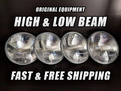 OE Front Halogen Headlight Bulb for Mercury Cougar 1967-1976 High /& Low Beam x4