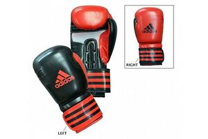 Adidas Boxing Gloves Power 200 Duo Shiny Sparring Black Climacool 10 12 14 16 oz