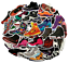 sticker-bomb-pack-nike-shoes-supreme-luggage-laptop-skateboard-vinyl-decals-air thumbnail 1