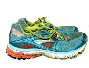 Brooks-Ravenna-5-Womens-Running-Shoes-Sneakers-Blue-Orange-Size-8