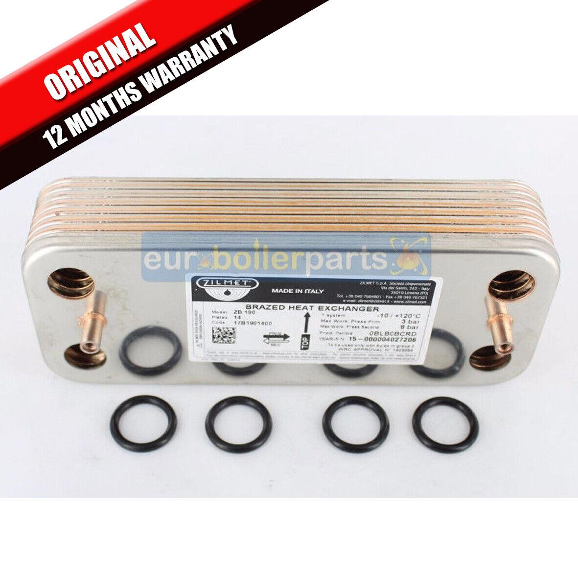 Biasi Compact M90E.24S Boiler DHW Hot Water Heat Exchanger BI1001101