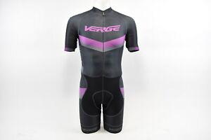 Brand New Verge Elite Women/'s Euro Short Sleeve Cycling Skinsuit XS