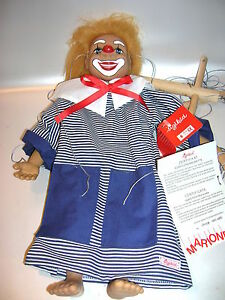 Sigikid-Kunstlermarionette-Clown-von-Gabriele-Brill-Limitiert-101-1000