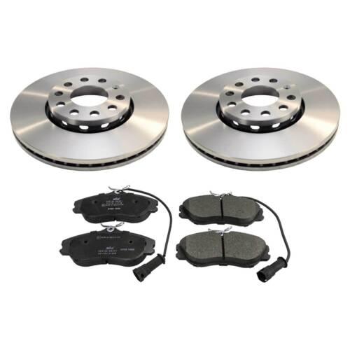 Bremsen-Set Vorderachse mit Bremsscheiben und Bremsbelägen AUDI A4 8D B5