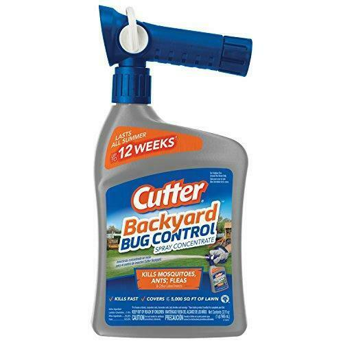 Cutter 95962 Natural Bug Control Spray Concentrate (HG ...