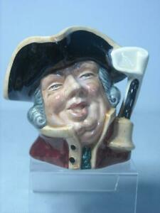 1960s-70s-SMALL-Royal-Doulton-TOWN-CRIER-Character-Jug-D6537-7-Photos
