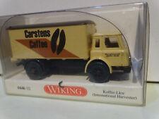 0446 02 International Harvester Koffer-LKW Carstens OVP #2064 Wiking 1//87 Nr