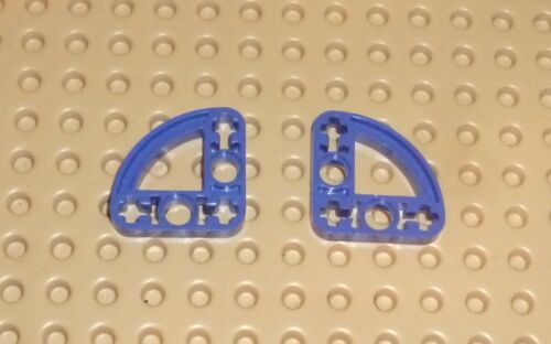LIFTARM 32249 LEGO 3 x 3 L-Shape w// Ellipse TECHNIC VIOLET x 2 TK1529