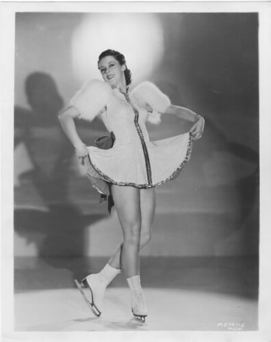BESS EHRHARDT original MGM photo THE ICE FOLLIES OF 1939 studio publicity still