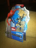Marvel Spiderman 3 Movie 6 Figure Rare Spider-man Black Suit Sandman