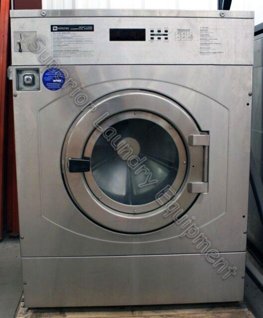 Maytag 80lb Commercial Washer Mfr80pdavs For Sale Online Ebay