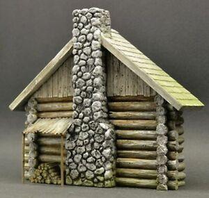 DioDump-DD084-Russian-farm-house-039-Oryol-039-1-35-diorama-building-model-kit