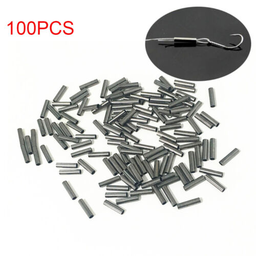 Connector single Copper  Line Crimping Sleeves Fishing Wire Tube Crimp Sleeve