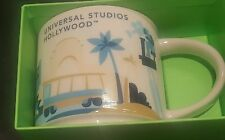 Universal Studios Hollywood Starbucks YAH You Are Here Mug Cup NIB
