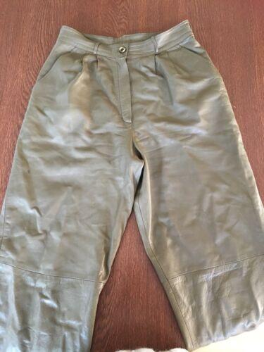 M in alta vintage vita pelle a Pantaloni vera HxqIgf0gn