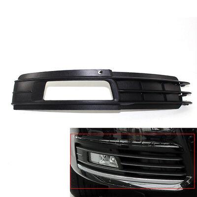 Fit AUDI A6 C6 4F 09-11 Front Bumper Fog Lights LED Lamp+Grilles Grill Bezel Kit