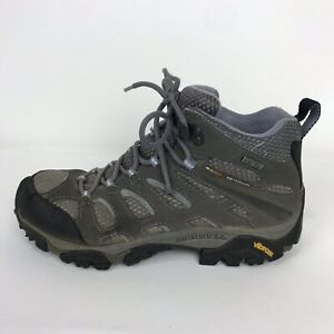 Merrell ladies hiking//outdoor low ankle shoes grey mix sise 5 Goretex Vibram