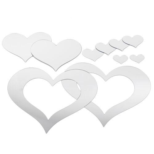 Wandaufkleber Spiegel Wandsticker Badezimmer Wanddeko Selbstklebend Mehr Auswahl