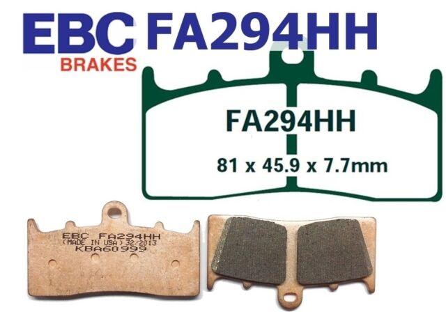 EBC GARNITURES DE FREIN fa294hh ESSIEU AVANT compatible en BMW R 1150 R Rockster