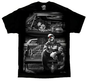 Dreaming-Casually-Lowrider-Homies-Chicano-Art-David-Gonzales-DGA-T-Shirt