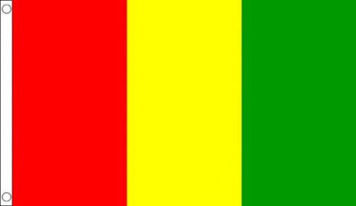 County Carlow Flag Red Yellow Green Vertical 5/'x3/' Ireland Irish St Patricks Day