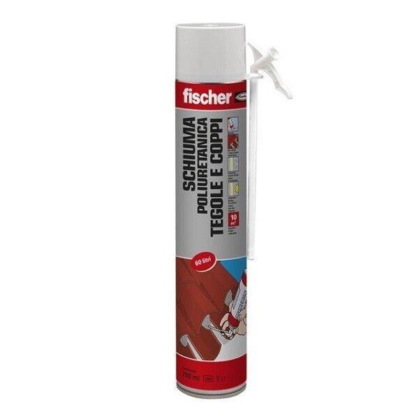 Schiuma Poliuretanica Fischer manuale tegole coppi 750 ml