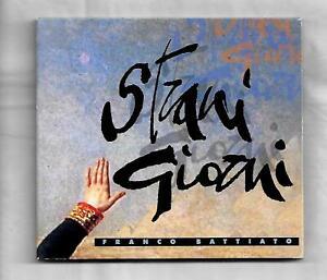 Franco Battiato Strani Giorni cd (2 tracks)