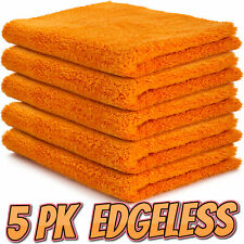 Edgeless Microfibre Cloths x 5 Flawless Microfiber Car Detailing Wash Cloth Pack