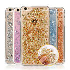 iPhone 7 6S/Plus/5S/SE Case Cover for Apple - Glitter Bling Gold Foil Clear Slim