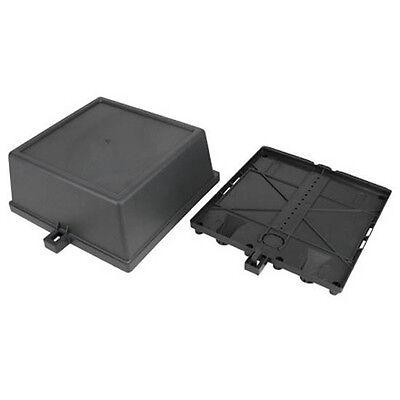 Eagle Outdoor Enclosure Satellite Junction Box Weather Resistant Cable PVC 9x9x4