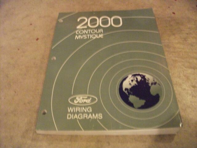 2000 Ford Contour    Mercury Mystique Wiring Diagrams