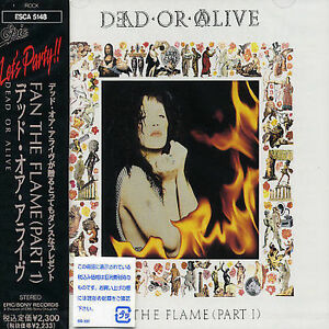 Fan-the-Flame-Japan-by-Dead-or-Alive-CD-Jan-1992-Sony-New-Sealed-With-OBI