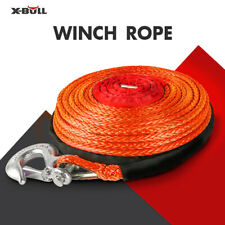 X Bull Dyneema Synthetic Winch Rope With Hook 38 X 100ft 23809 Lbs Recovery