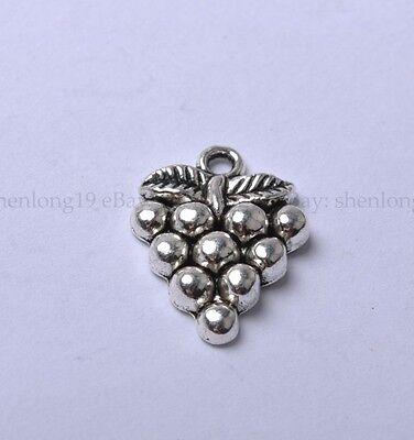 20pcs Tibetan Silver Grape Charm Pendants 20X14MM SH847