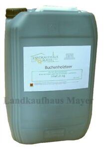 Buchenholzteer-25-kg-Lockmittel-Holzteer-Wildverbiss-Verbissschutz-Wildabwehr