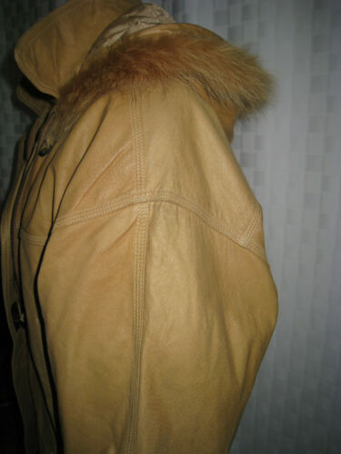 Leather Arizona M Parka Size Rare Hooded Women's Fur Nice Trim Raccoon Jacket ZArqwdaAx