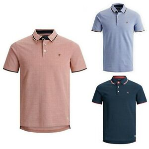 Jack-amp-Jones-Hombre-Polo-camiseta-con-cuello-corta-21644