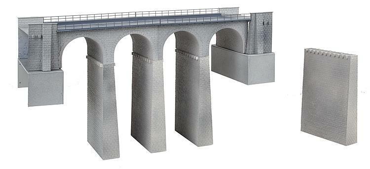 Faller 120465 Bausatz  Viadukt-Set, 2-gleisig        Perfekt In Verarbeitung  3732eb