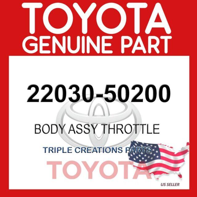 GENUINE Toyota 22030-50200 BODY ASSY, THROTTLE W/MOTOR 2203050200 OEM