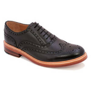 a74740b190d0 Gentleman s Goodyear Welted Oxford Chapman and Moore Durham Black UK ...
