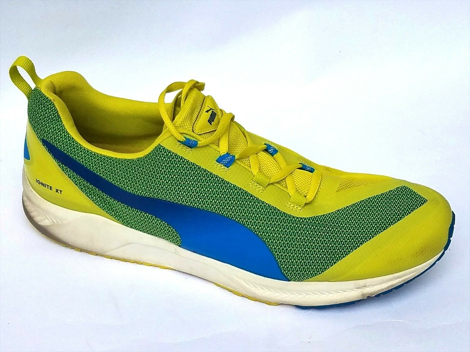 Puma Ignite XT Running Athletic shoes Sneakers Sulphur Spring  Cloisonnee 13 47